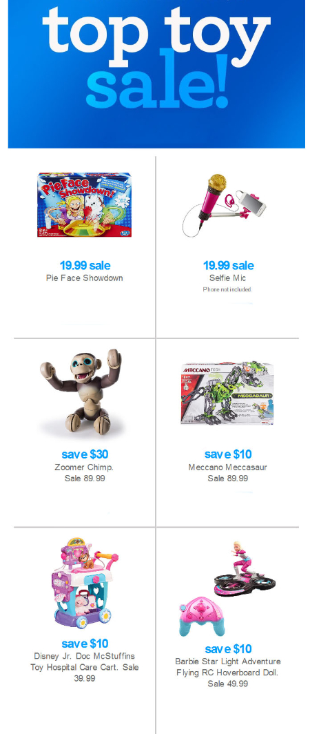 Up to 25% Off Top Toy Sale