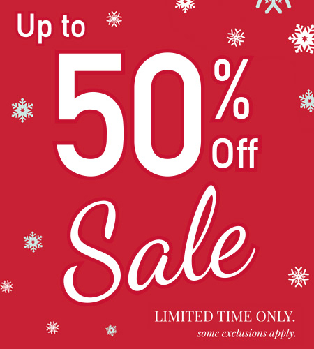 Up to 50% off Black Friday Sale!