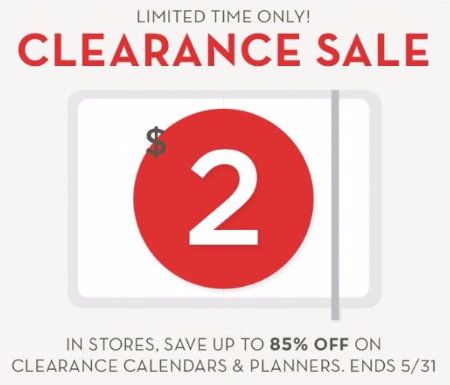 Clearance Sale up to 85% Off