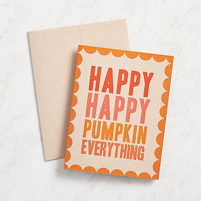 Fall Card Making