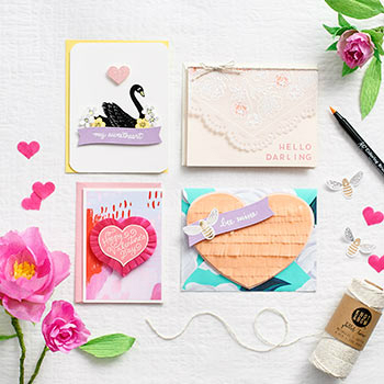 Valentine Card Making Craft Social