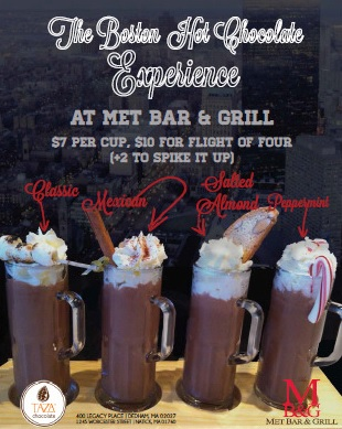 The Boston Hot Chocolate Experience