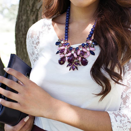 Be Trendy With Midnight Blooms at Charming Charlie