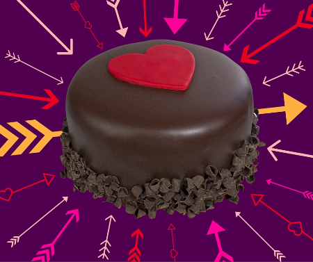 $4 off Valentine's Day Cakes!