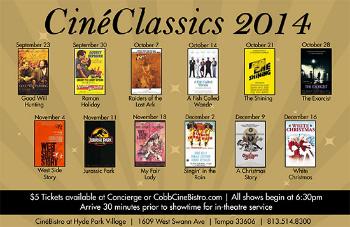 CineClassics @ CinéBistro at CinéBistro