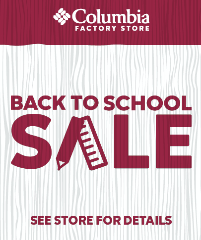 0a8a34e3e The Outlet Shoppes at El Paso ::: Back To School Sale ::: Columbia ...