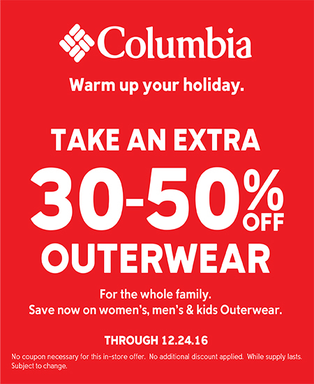 Columbia Sportswear WARM UP YOUR HOLIDAY