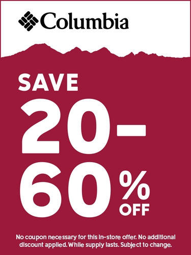 Save 20-60% off Entire Store
