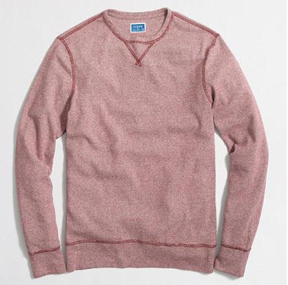 Long-Sleeve Twisted Rib T-Shirt