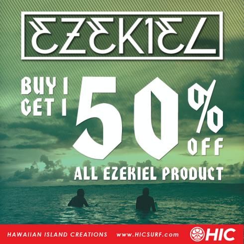 Buy 1 Get 1 50% Off All Ezekiel Products at Hawaiian Island Creations