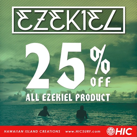 25% Off All Ezekiel Clothing