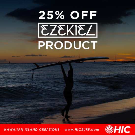25% Off All Ezekiel at Hawaiian Island Creations (HIC)