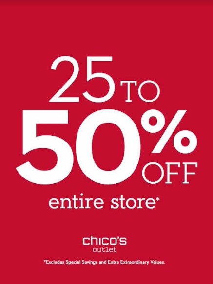 ​25​-50% Off Entire Store