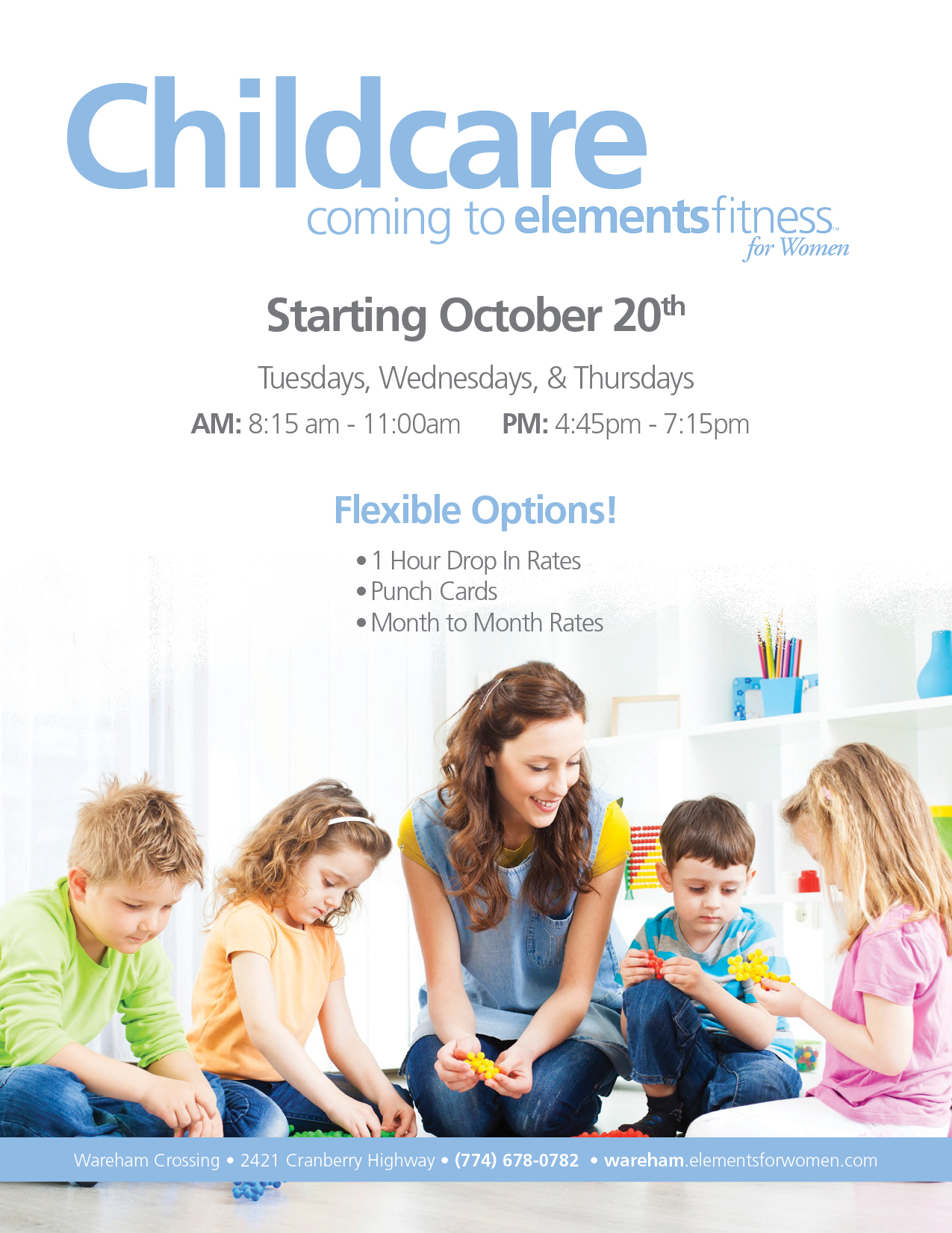 Childcare...coming to Elements soon!