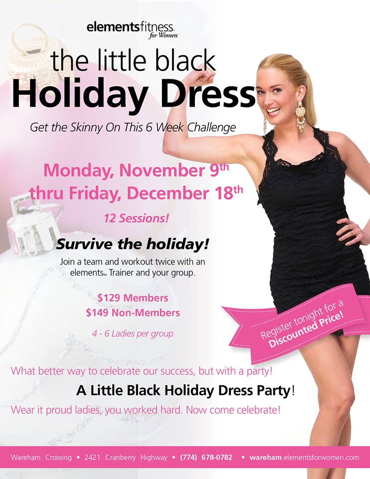 Little Black Holiday Dress Challenge!