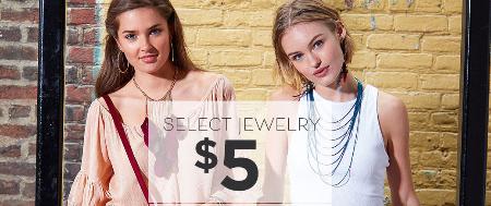 $5 Select Jewelry