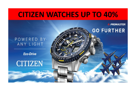 961f5cc7822 Oviedo Mall     Citizen Watch Sale up to 40%     Precious Fine Jewelers