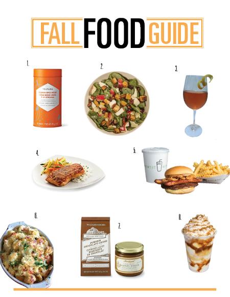 Fall Food Guide