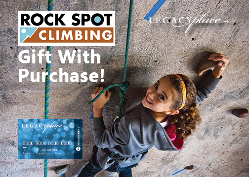 Rock Spot Climbing Gift With Purchase