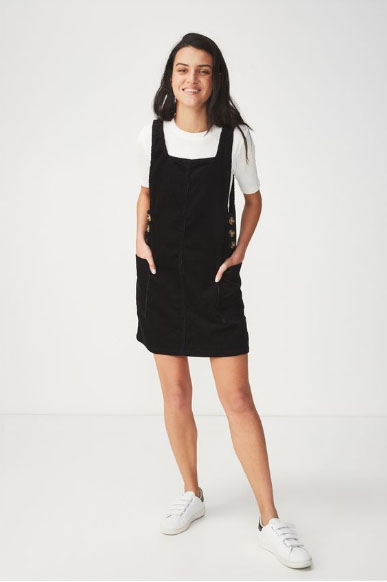 9fe5bf3c18 Outlets at Lake Elsinore     Denim Pinafore Dress     Cotton On