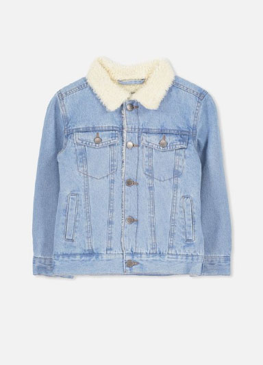 b781aa19b5 Outlets at Lake Elsinore     Bruce Denim Jacket     Cotton On
