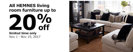 Cascade Station ::: Up to 20% Off All Hemnes Living Room Furniture ...