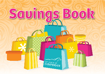 Free Coupon Savings Book! at The Shops at Tanforan's Promotions