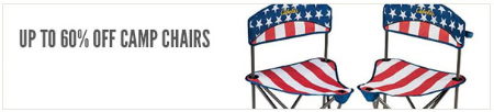 Up to 60% Off Camp Chairs