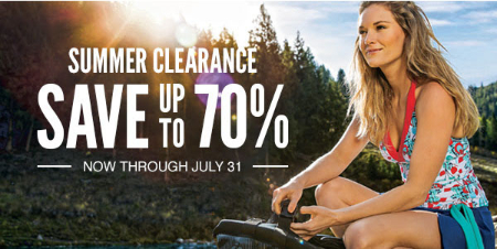 Up to 70% Off Summer Clearance
