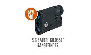 $40 Off Sig Sauer Kilo850 Rangefinder