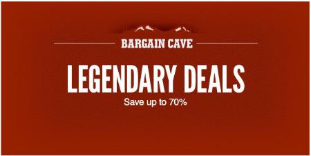 Up to 70% Off Legendary Deals