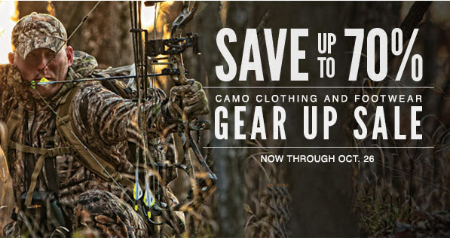 Up to 70% Off Gear Up Sale
