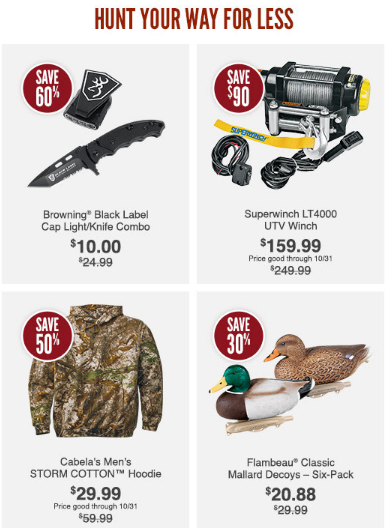 Hunt Your Way for Less