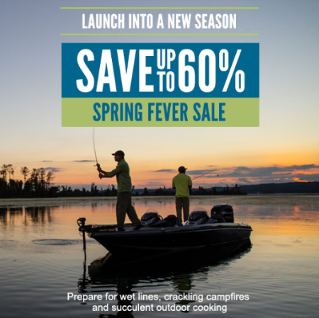 Up to 60% Spring Fever Sale