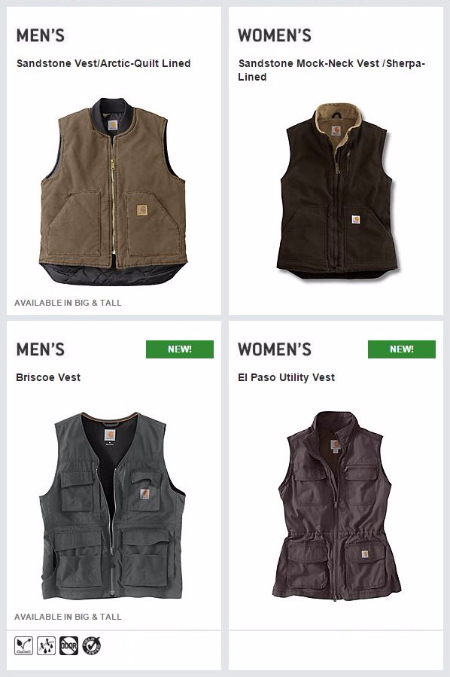 Carhartt Vests Just for You