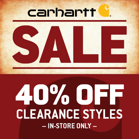 Save 40% Off Select Winter Clearance Styles