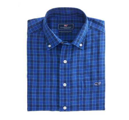 Bass River Check Classic Tucker Shirt