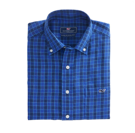 Bass River Check Classic Tucker Shirt