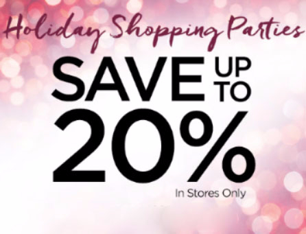 Up to 20% Off Select Items
