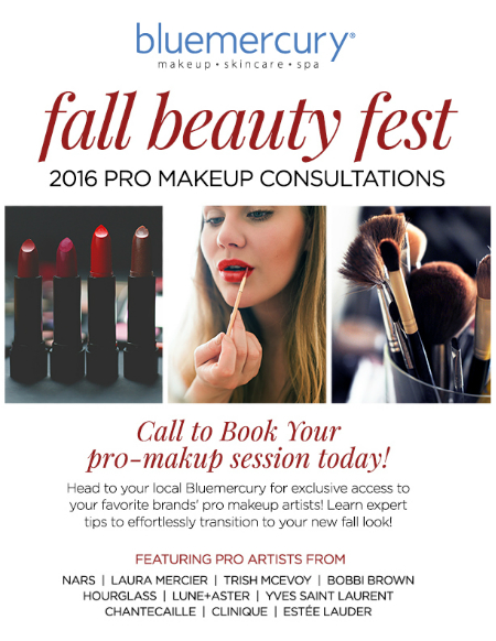 Fall Professional Makeup Consultations