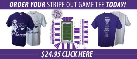 Get your Stripe Out Game Tee at Varney's