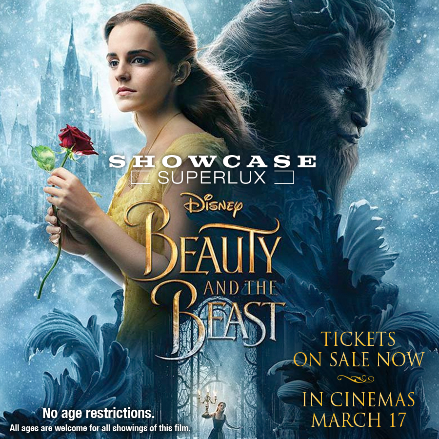 Beauty & The Beast Tickets on Sale! at Showcase SuperLux