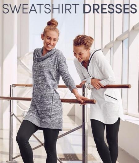 Sweatshirt Dresses Just for You