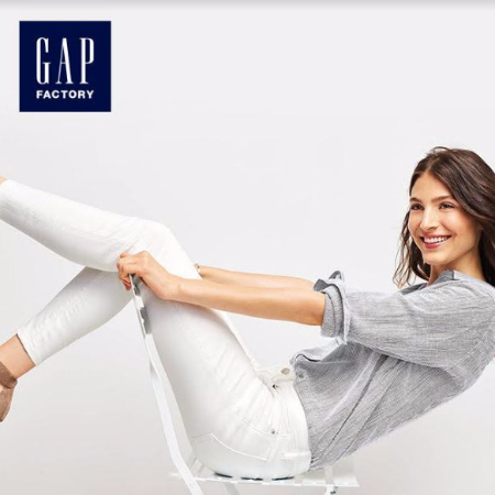 Entire Store 50-70% off Original Prices at Gap Factory Store