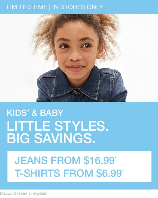 f36271112c4a8 Tuscola Outlet Shops ::: KIDS' & BABY JEANS $16.99 AND T-SHIRTS ...