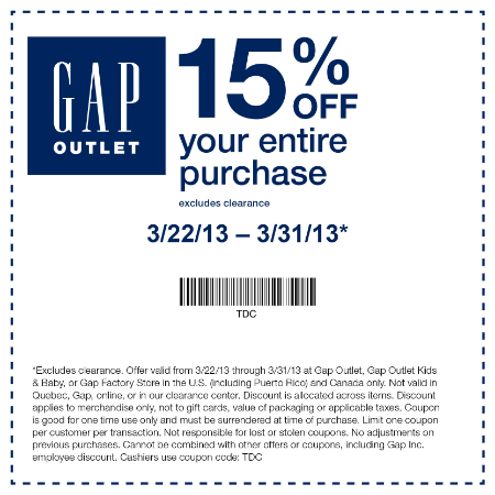 Gap Coupons, Sales, & Codes Our coupon hunters want to make sure you get the stuff you want without emptying your pockets. Click the button to check Gap's homepage for coupons, sales, and codes, and don't forget to sign up for their email list to get deals directly to your inbox.5/5(15).