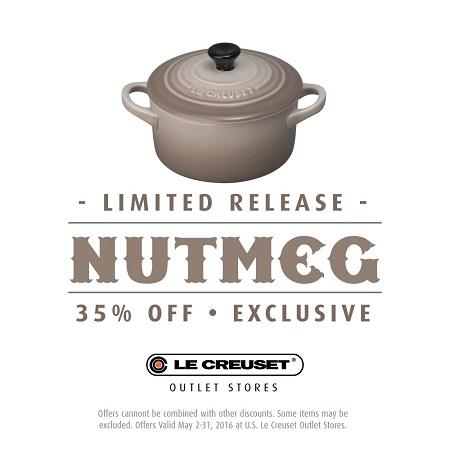 35% off Nutmeg