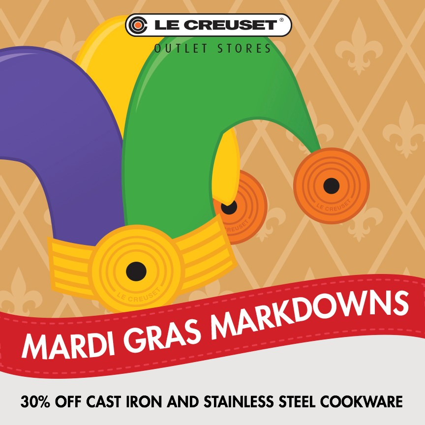 30% off Cast Iron and Stainless Steel!