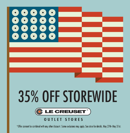 35 % Off Store Wide Memorial Day Sale