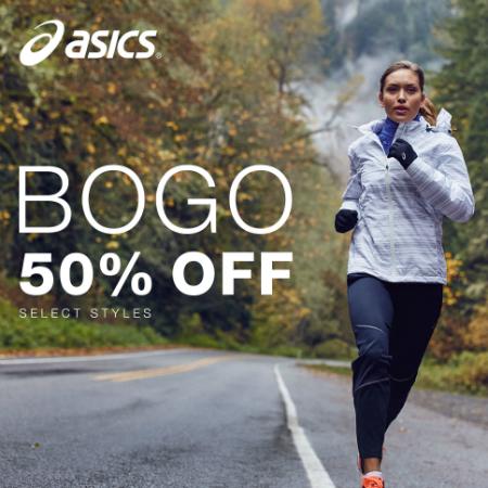 BOGO 50% Off Select Footwear